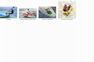 桨类运动高清图