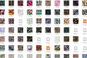 254个JPG高清数码印花专用图片
